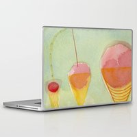 cherry Laptop & iPad Skins featuring Cherry by angela deal meanix