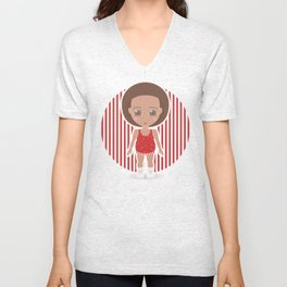 Richard Simmons Unisex V-Neck
