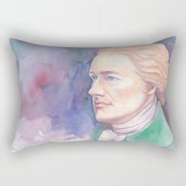 Hammy in green Rectangular Pillow