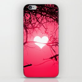 Forest Love Sunrise iPhone Skin