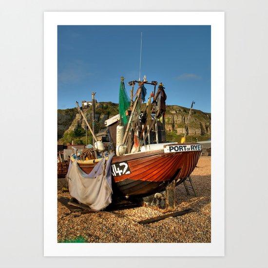 Port Of Rye Art Print