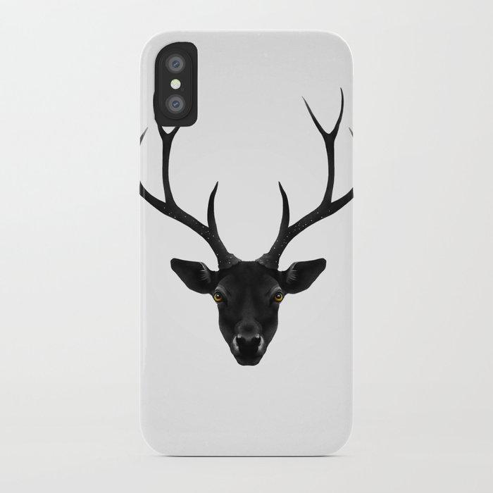 The Black Deer iPhone Case