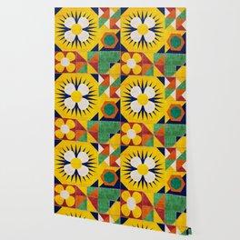 Spanish tiles Wallpaper
