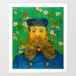 """Vincent van Gogh """"Portrait of Joseph Roulin"""" Art Print"""