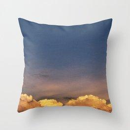clouds 11 Throw Pillow