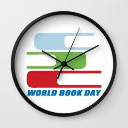 book day Wall Clock
