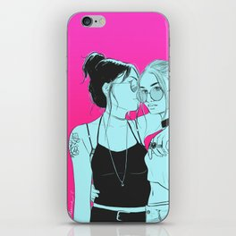 Whispering iPhone Skin