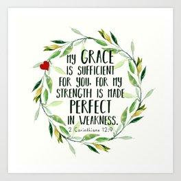 Perfect Grace Art Print