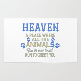 Heaven A Place Rug
