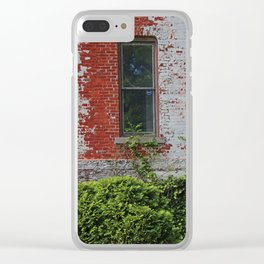 Old West End Mary Manse College- Terrault House Window Clear iPhone Case