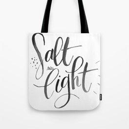Salt and Light Tote Bag