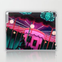 Pink and Purple Carnival Laptop & iPad Skin