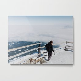 Fogged Metal Print