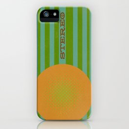 Stereolab (ANALOG zine) iPhone Case