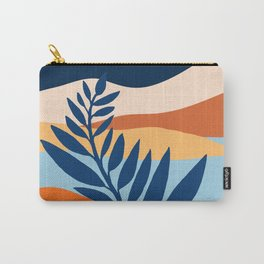 Moon + Night Bloomer / Mountain Landscape Carry-All Pouch
