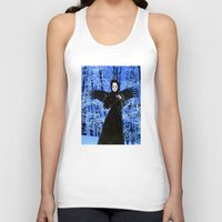 edgar allan poe Tank Tops featuring Nevermore - Edgar Allan Poe by Danielle Tanimura