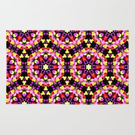Tiny Floral Pattern Rug