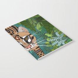ocelot jungle green Notebook