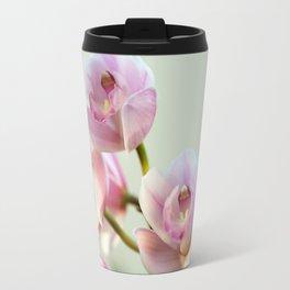 Cymbidium orchid 9770 Travel Mug