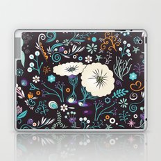 Subsea floral pattern Laptop & iPad Skin