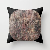 circle Throw Pillows featuring Circle by dominiquelandau