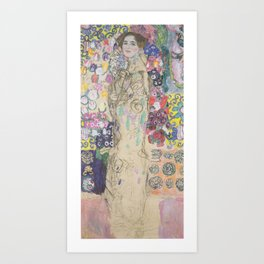 Portrait of Maria Munk Art Print