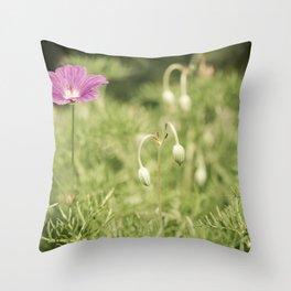 My Gentle Verse Throw Pillow