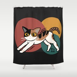 Stretch out Shower Curtain