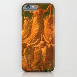 L'Assunzione (Assunta) The Resurrection by Gaetano Previati iPhone Case