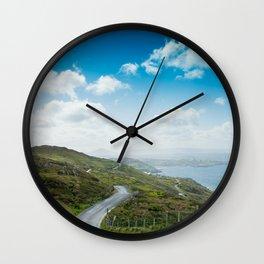 Sky Road Wall Clock