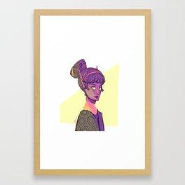 Elf Lady Framed Art Print