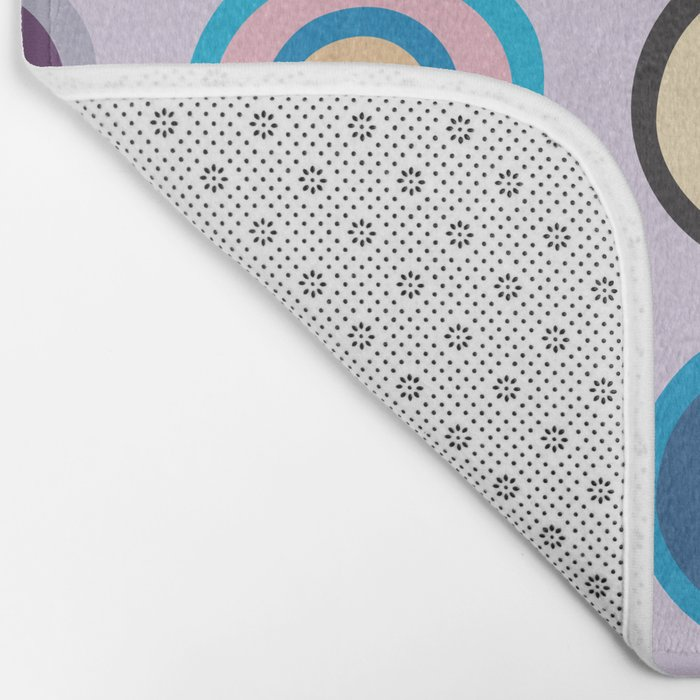 Colorful Circles VI Bath Mat