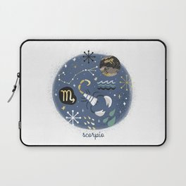 Scorpio Water Laptop Sleeve