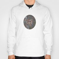free shipping Hoodies featuring Owl in a Birch Grove by Juliana Kroscen