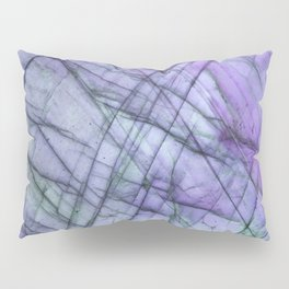 Purple Labradorite Pillow Sham