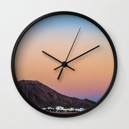 Montana Roja Wall Clock