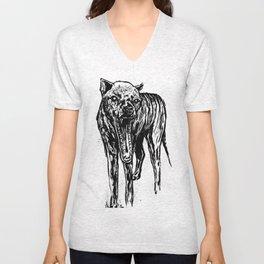 Thylacine Unisex V-Neck
