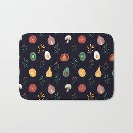 Vegetables pattern Bath Mat