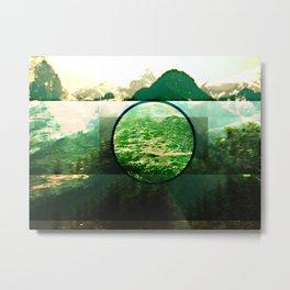 window by BEN-ZAITEN Metal Print