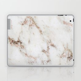 Artico marble - rose gold accents Laptop & iPad Skin