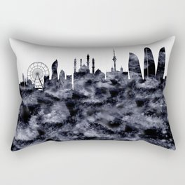 Baku Skyline Azerbaijan Rectangular Pillow
