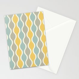 Mid Century Modern Ogee Pattern 153 Stationery Cards