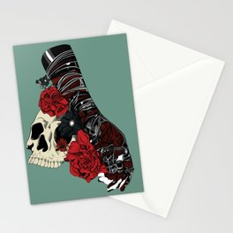 Grief on fingertips Stationery Cards