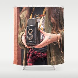 Take a photo Shower Curtain
