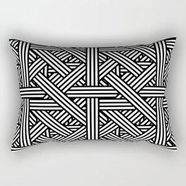Tilt Stripes Rectangular Pillow