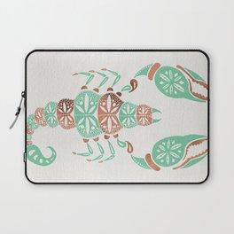 Scorpion – Mint & Rose Gold Laptop Sleeve