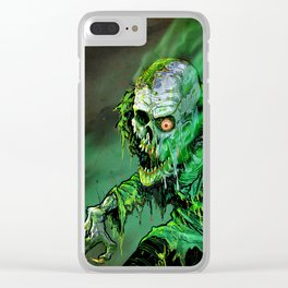 REANIMATED GREEN Clear iPhone Case