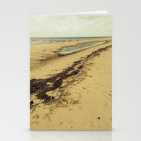 calcifer Stationery Cards featuring Sandbar by Calcifer