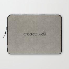 Concrete Wear Laptop Sleeve