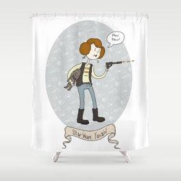 Star Wars fan-girl Shower Curtain